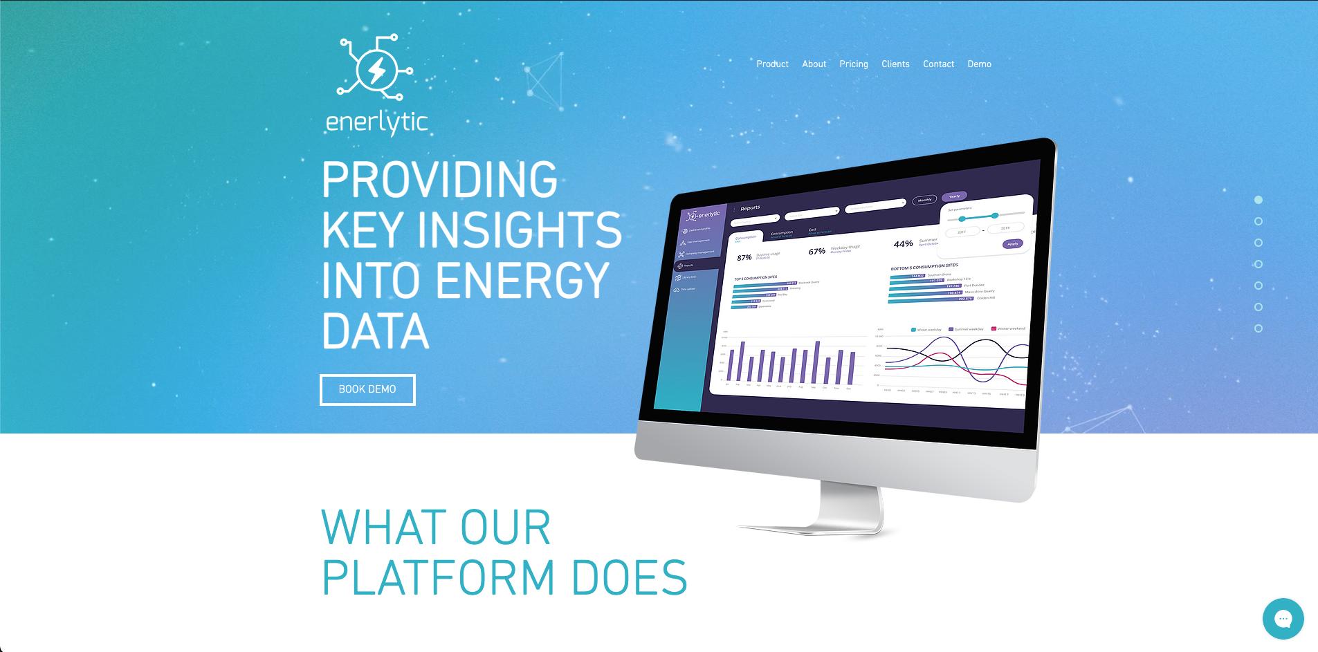 Enerlytic Website