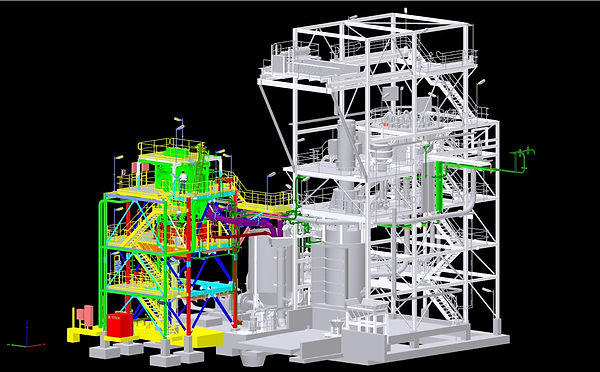 Stack cell concept through to site completion and commissioning