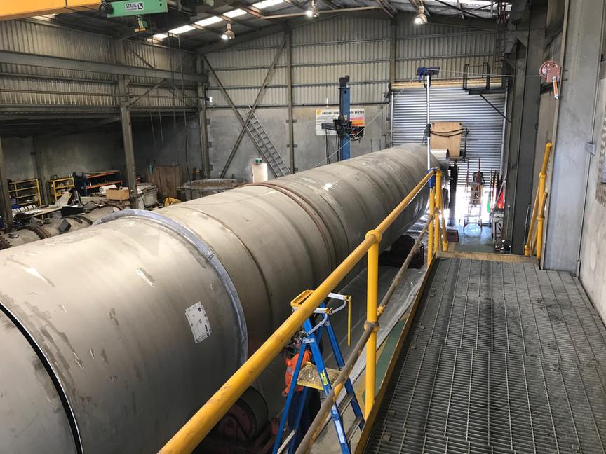 Mundaring weir liner SS316 40 meters