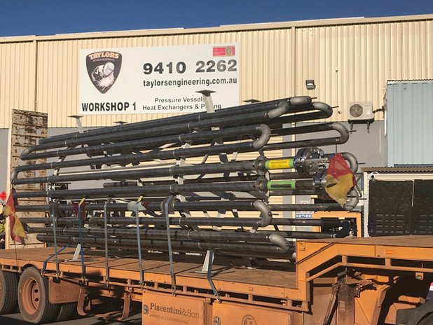 Inconel coil dispatched