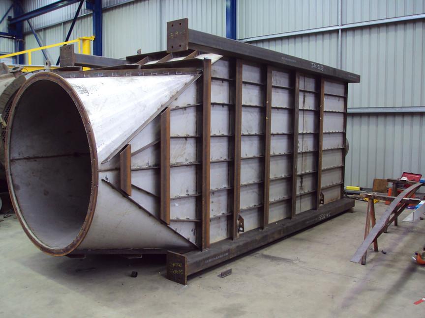 Fabrication of SS 316 surge bin