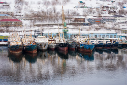 Confiscated Crabbing Vessels, Russia