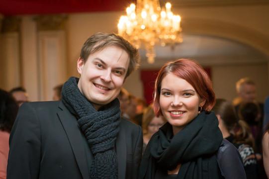 Karita Troberg ja Jonas Rannila