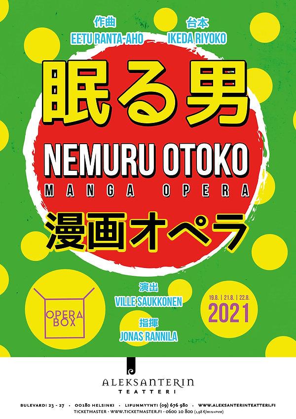 Nemuru otoko -manga opera