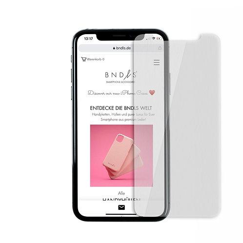 Panzerglasfolie aus 9H Echtglas für iPhone
