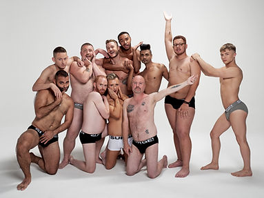 Men in underwear