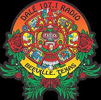 Dalé 107.1 FM LOGO KRXB Radio stton logo
