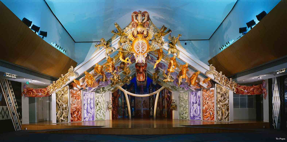 Foto Te Papa Museu Wellington