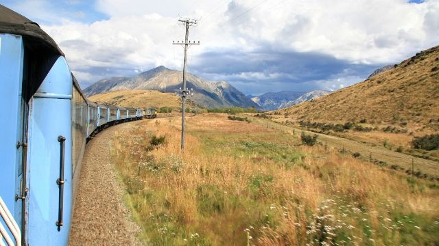 Foto TranzAlpine Christchurch
