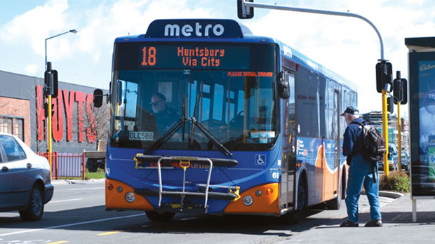 Onibus Metro Bus Christchurch