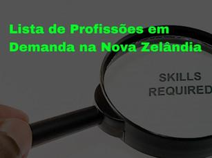 Benefícios para Profissões em Demanda na Nova Zelândia