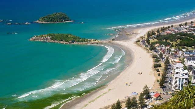 Praia Mount Maunganui-Bay of Plenty