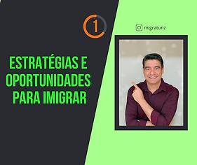 1 - Estratégias e Oportunidade de Imigr