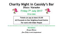 Disco & Karaoke night for Star Neighbourhood!