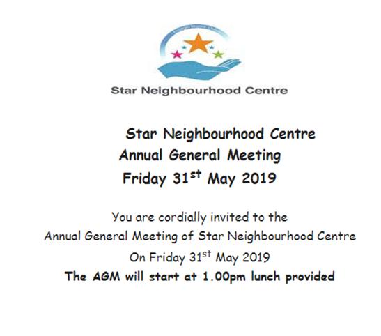 Star Neighbourhood Centre - 2019 AGM