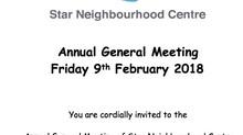Star Neighbourhood Centre AGM