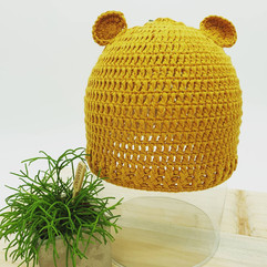 Tricot ours ocre