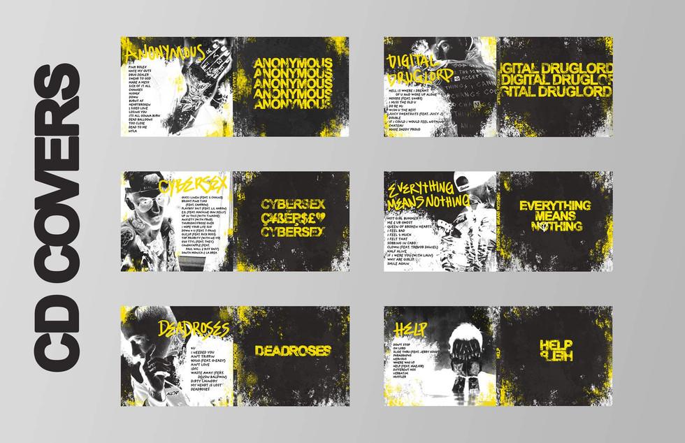 CD Case Designs