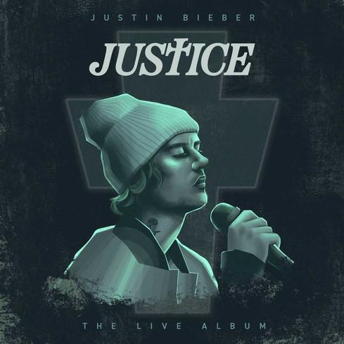 Justice Live Album Concept Cover