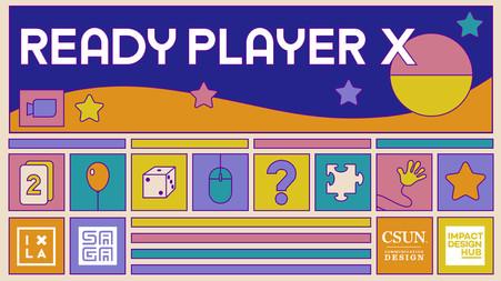 Ready Player X Zoom Background