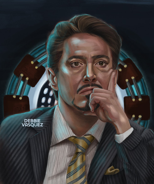 Tony Stark Portrait