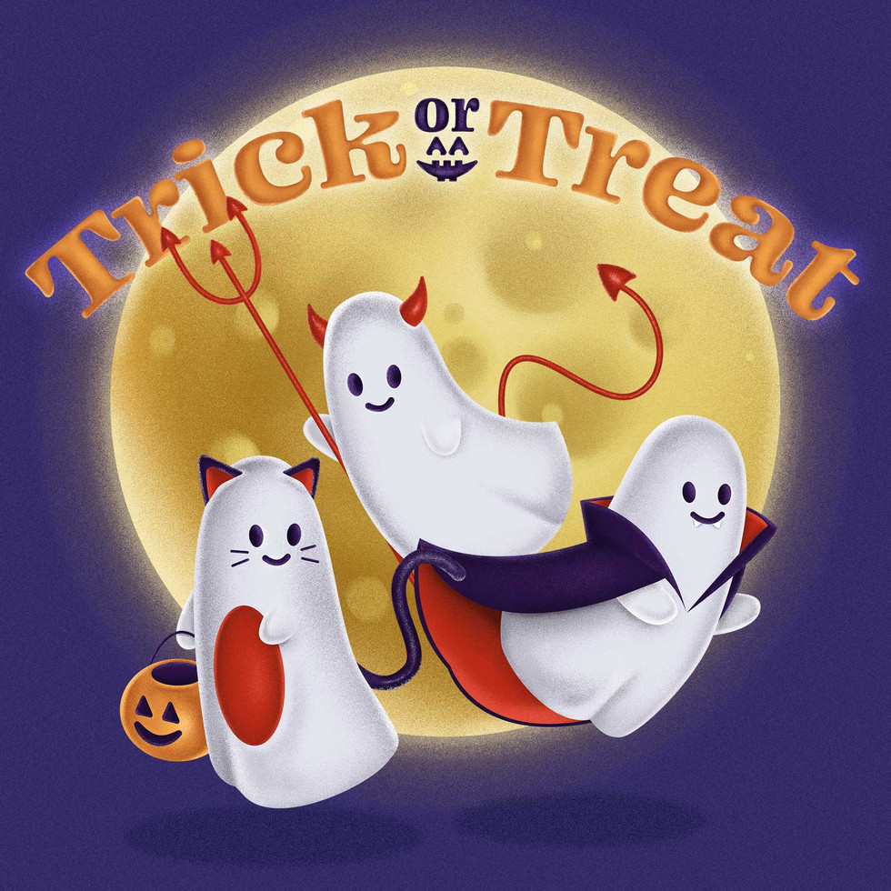 """""""Trick or Treating Trio"""""""
