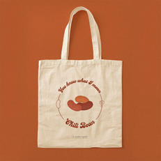 You Know What I Mean Chili Bean? Totebag