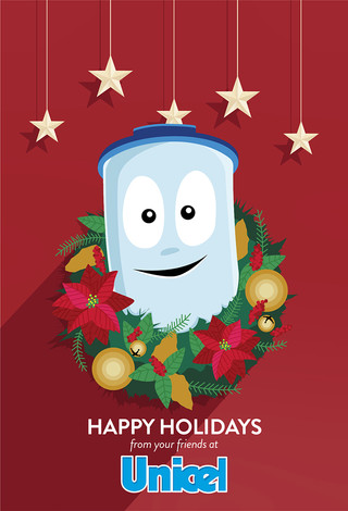 Unicel Holiday Card Concept 2
