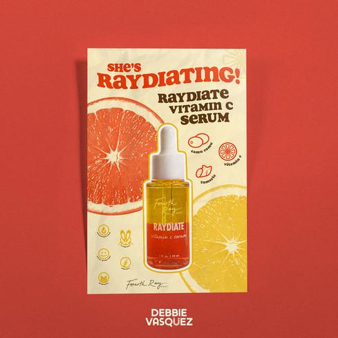 Vitamin C Poster Mockup