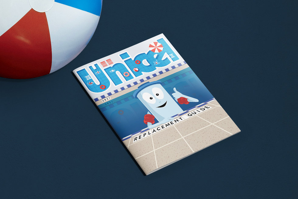 Unicel Replacement Guide Cover 2021 Mockup