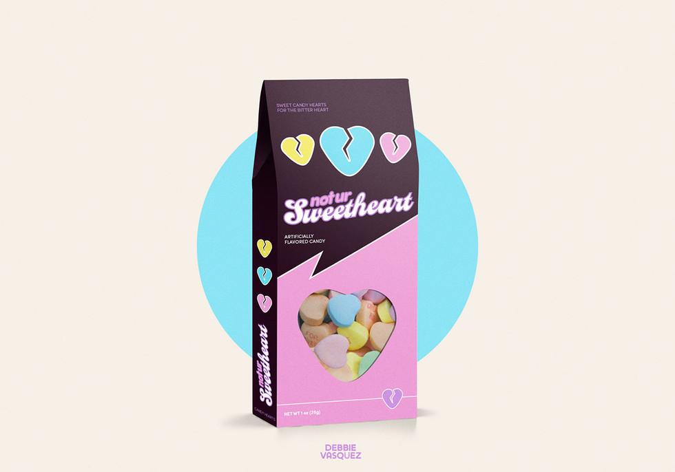 Not Ur Sweetheart Packaging Mockup