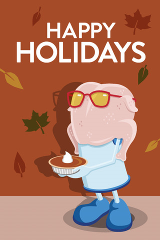 Unicel Thanksgiving Holiday Card Concept