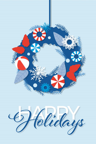 Unicel Holiday Card Concept 1
