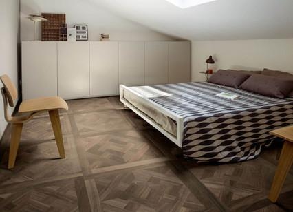 Keramische tegel houtstructuur
