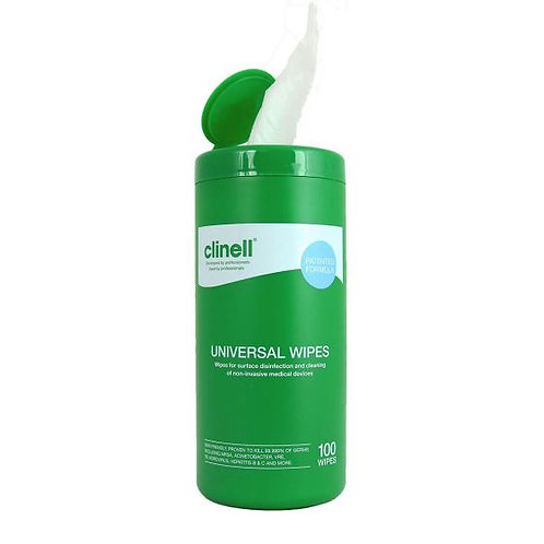 Clinell Universal Wipes (Tub of 100)