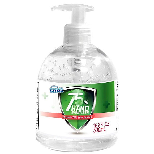 Hand Sanitizer 75% Alcohol 500ml