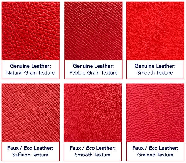 Campo Marzio Leather Types & Textures
