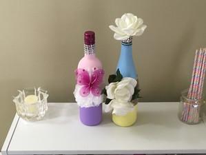 Wine Bottle Upcycle