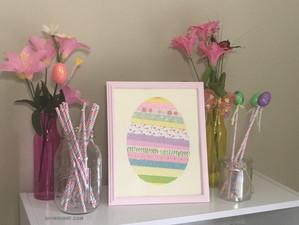 Framed Art - Easter Egg