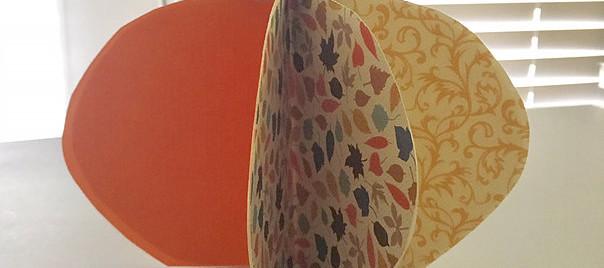 BONUS - 3D Paper Pumpkin