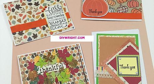 November Thanksgiving Cards