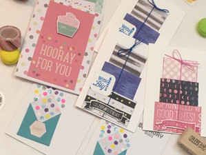 What You Need For Birthday Card Making