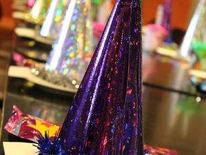 New Year's Eve Princess Hats