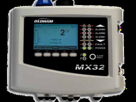 Centrale de mesure de gaz numérique Oldham MX32