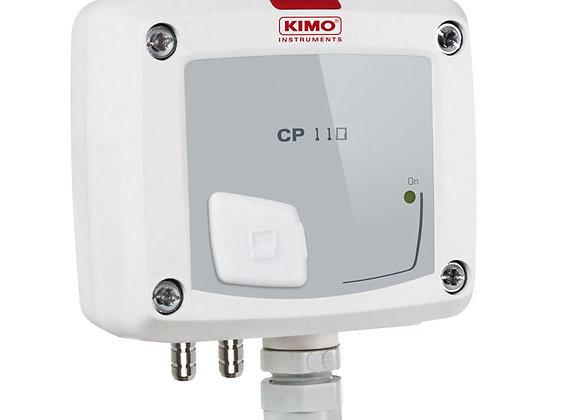 CP111-AN Pression -100 à +100 Pa avec électrovanne