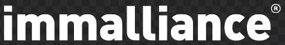 Logo Immalliance Blanc