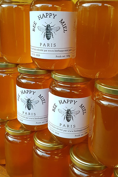 6 pots de Miel de 500g ( soit 16€ le pot)