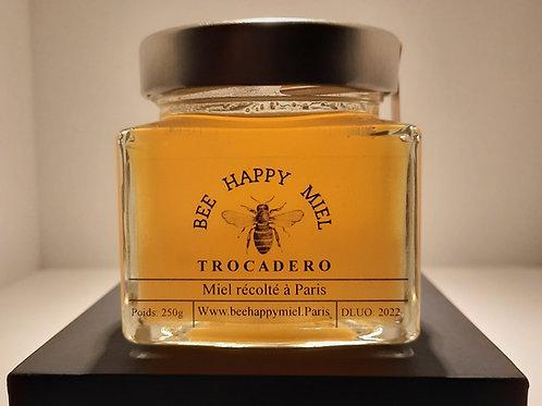 """Miel """"Premium"""" récolté au Trocadéro 250g 16€"""