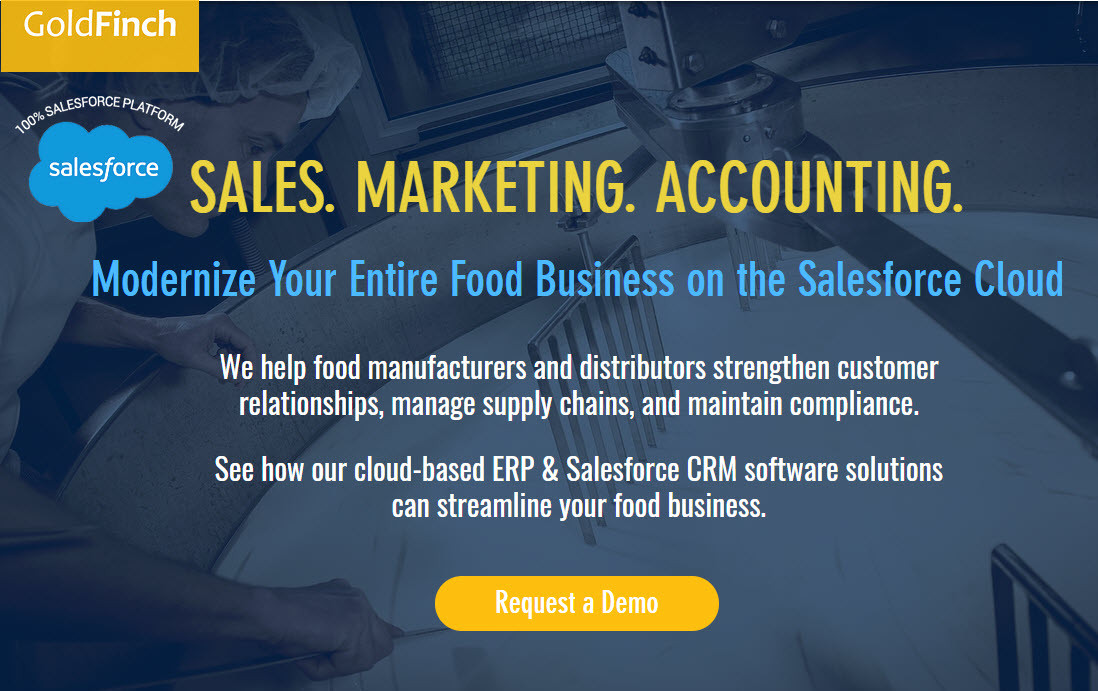 GoldFinch | United States | Organic Food Manufacturing ERP