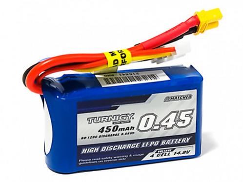 Bateria Turnigy 450mAh 4S 60C Lipo Pack w/XT30